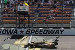 James Hinchcliffe, Schmidt Peterson Motorsports Honda remporte la course