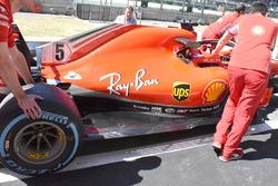 Ferrari SF71H piso