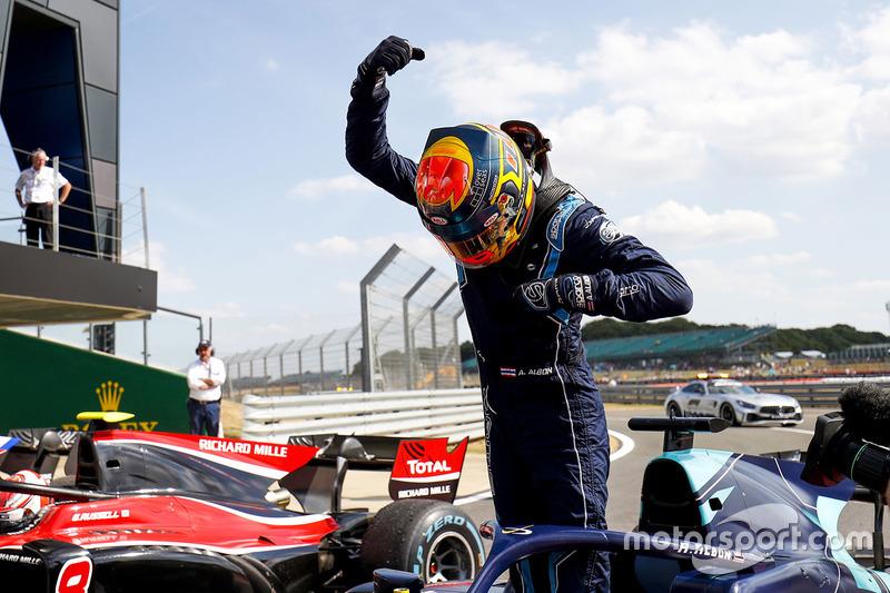 Vainqueur, Albon mettait un terme à six courses consécutives sans podium