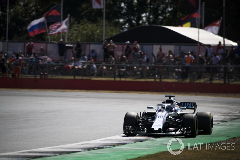 Start aus der Boxengasse: Lance Stroll, Williams FW41*