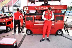 #64 Scuderia Corsa Ferrari 488 GT3, GTD: Bill Sweedler