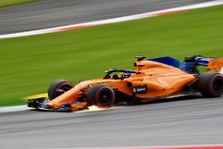 Fernando Alonso, McLaren MCL33 sparks