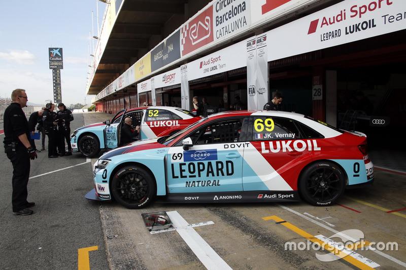 Жан-Карл Вернэ, Audi RS3 LMS TCR, Audi Sport Leopard Lukoil Team