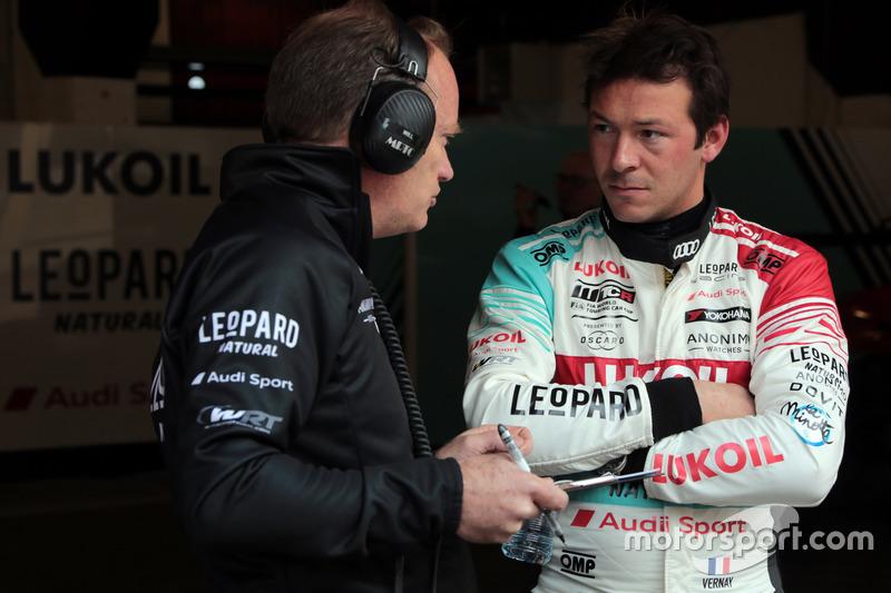 Жан-Карл Вернэ, Audi Sport Leopard Lukoil Team