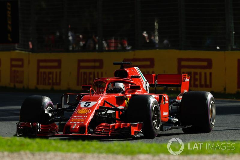 2018: Sebastian Vettel, Ferrari SF71H