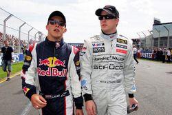 Christian Klien, Red Bull Racing and Kimi Raikkonen, McLaren