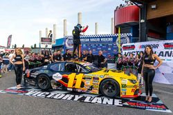 Race winner Elite 2, Felipe Rabello, PK Carsport Chevrolet