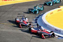 Nick Heidfeld, Mahindra Racing, Felix Rosenqvist, Mahindra Racing