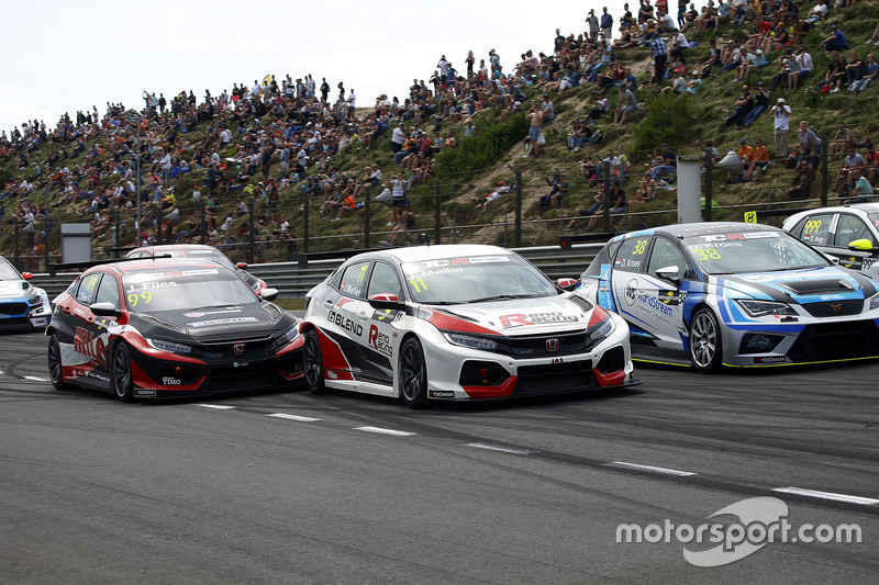 Josh Files, Hell Energy Racing con KCMG Honda Civic Type R TCR, Jens Reno Møller, Reno Racing, Honda Civic Type R TCR
