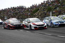 Josh Files, Hell Energy Racing with KCMG Honda Civic Type R TCR, Jens Reno Møller, Reno Racing, Honda Civic Type R TCR