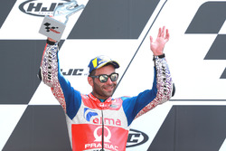 Second place Danilo Petrucci, Pramac Racing