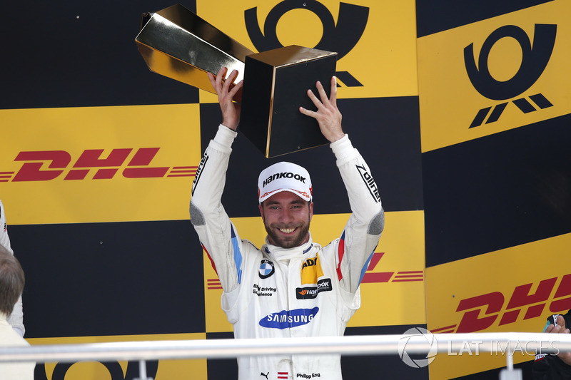 Podium: third place Philipp Eng, BMW Team RBM