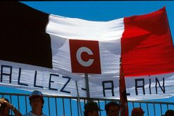 Des fans d'Alain Prost