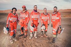 Gerard Farrés, Iván Cervantes, Dani Oliveras, Rosa Romero, Marc Solà, Himoinsa Racing Team