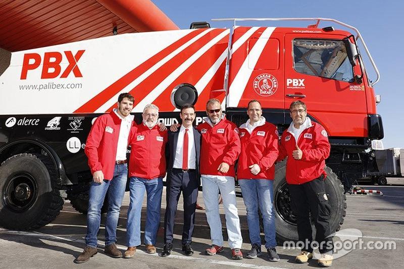 #533 Rafa Tibau y Rafa Tibau Jr, Quadafons Trucks Racing Team