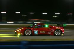 #82 Risi Competizione Ferrari 488 GT3: Ricardo Perez de Lara, Martin Fuentes, Santiago Creel, Miguel Molina
