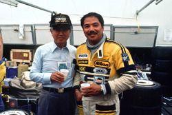 Kenichi Yamamoto, President of Mazda and Yojiro Terada