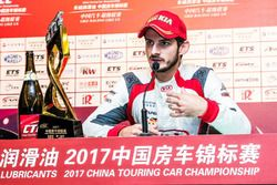 Alex Fontana in conferenza stampa, Kia Racing Team China