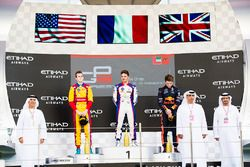 Podium: race winner Dorian Boccolacci, Trident second place Ryan Tveter, Trident, third place Dan Ti
