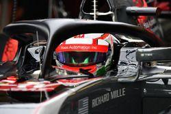 Антонио Джовинацци, Haas F1 Team VF-17 с системой Halo