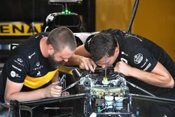 Renault Sport F1, mecánicos