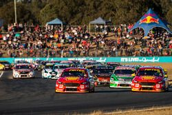 Scott McLaughlin, DJR Team Penske Ford Fabian Coulthard, DJR Team Penske Ford