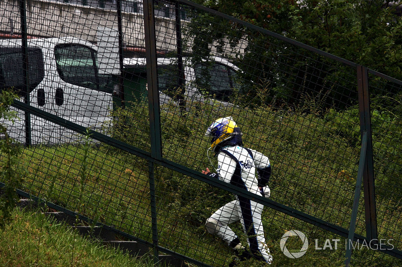 Nico Rosberg, Williams abandonne