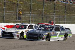 Justin Allgaier, JR Motorsports, Chevrolet Camaro Dove Men + Care and Josh Bilicki, J.P. Motorsports, Toyota Camry Prevagen
