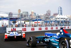 Felix Rosenqvist, Mahindra Racing, Luca Filippi, NIO Formula E Team