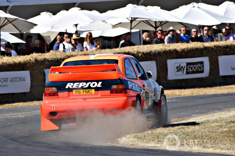 Nick Jarvis, Ford Escort Cosworth (55,13 detik)