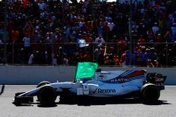 Felipe Massa, Williams FW40 met een vlag