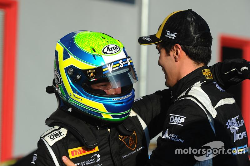 I vincitori della gara #6 VS Racing: Raphael Abbate, Yuki Nemoto