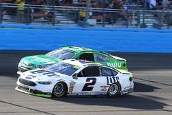 Brad Keselowski, Team Penske Ford and Jeffrey Earnhardt, Circle Sport – The Motorsports Group Chevro