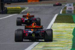 Max Verstappen, Red Bull Racing RB13 and Daniel Ricciardo, Red Bull Racing RB13
