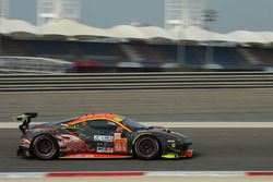 #61 Clearwater Racing Ferrari 488 GTE: Ishikawa Motoaki, Olivier Beretta