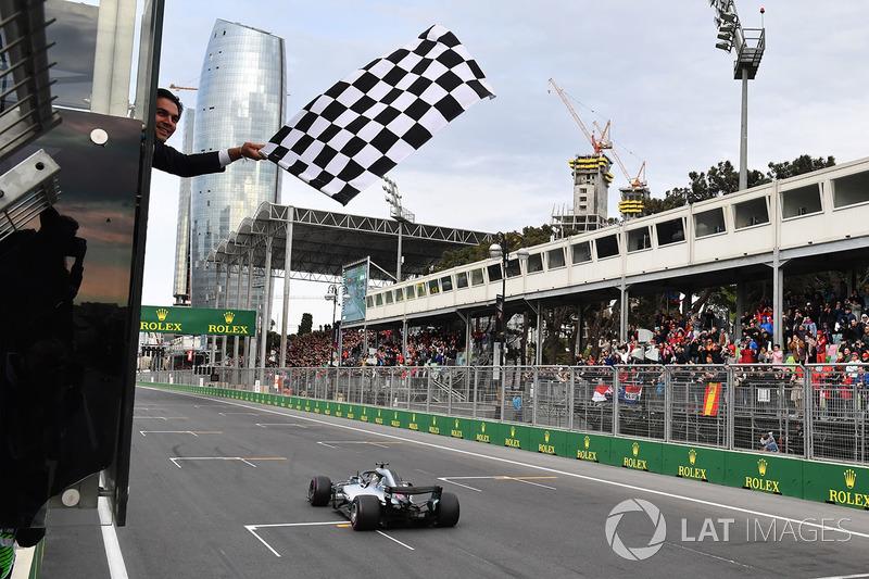 GP d'Azerbaïdjan - Victoire