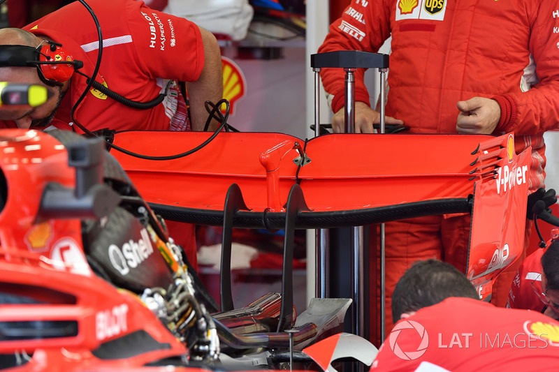 Ferrari SF71H rear wing