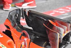 Detalle del alerón delantero de Kimi Raikkonen, Ferrari SF71H