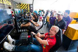 Felix Rosenqvist, Mahindra Racing, Nelson Piquet Jr., Jaguar Racing, Daniel Abt, Audi Sport ABT Scha