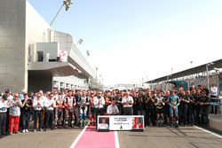 One minute silence for Ralf Waldmann and Ivano Beggio