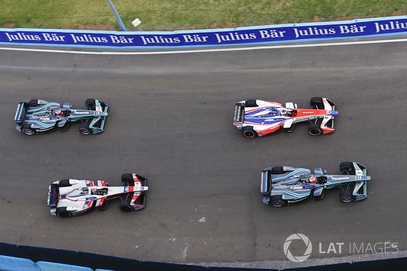 Nelson Piquet Jr., Jaguar Racing, Felix Rosenqvist, Mahindra Racing, Edoardo Mortara, Venturi Formul