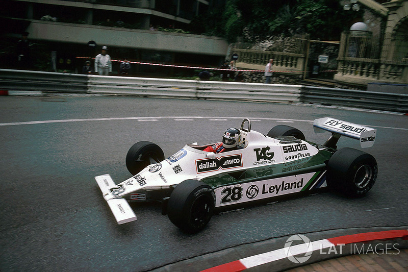 1980 : Williams-Cosworth FW07B