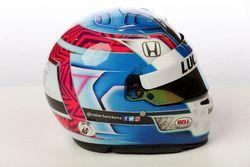 Helm von Robert Wickens, Schmidt Peterson Motorsports Honda
