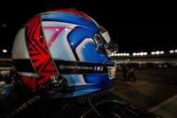 Le casque de Robert Wickens, Schmidt Peterson Motorsports Honda