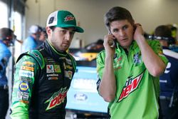 Jordan Allen and Chase Elliott, Hendrick Motorsports, Mountain Dew Chevrolet Camaro