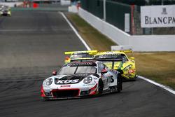 #117 KÜS Team75 Bernhard Porsche 911 GT3 R: Timo Bernhard, Earl Bamber, Laurens Vanthoor