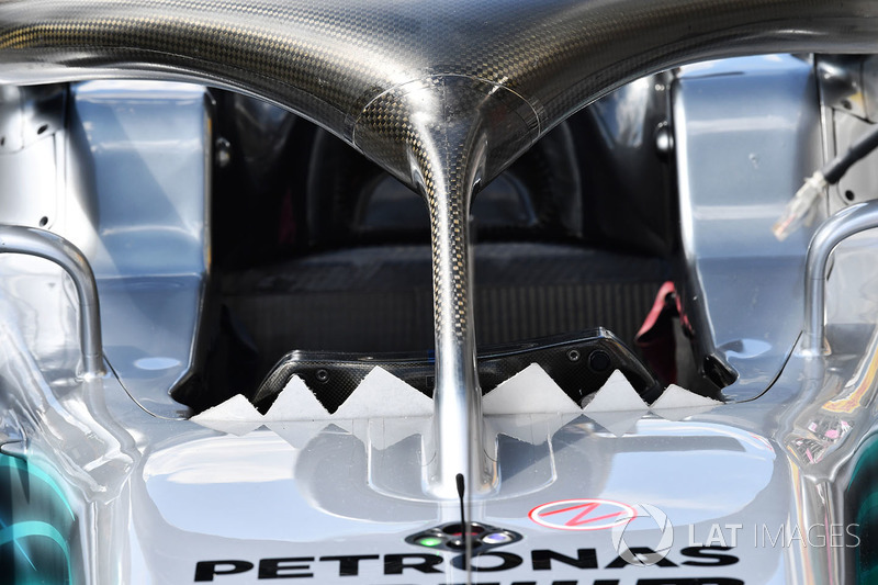 Mercedes-AMG F1 W09 halo detail