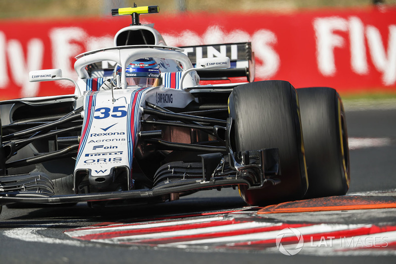 16. Sergei Sirotkin, Williams FW41