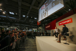 Nigel Mansell talks to Henry Hope-Frost on the Autosport Stage