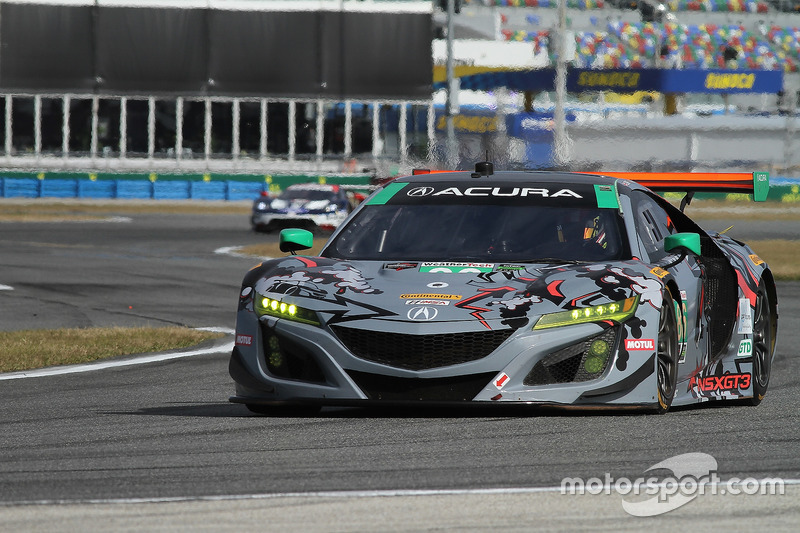 35.- #86 Michael Shank Racing Acura NSX (GTD): Katherine Legge, Alvaro Parente, Trent Hindman, A.J. Allmendinger